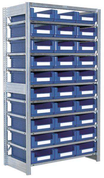 Småvarereol med SK5031-kasser