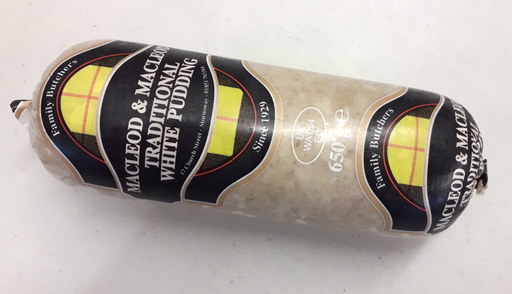 Stornoway Traditional White Pudding 650g