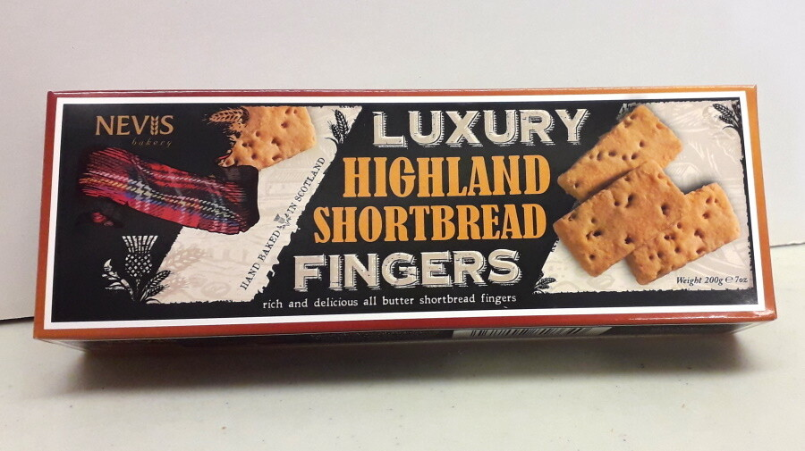 Nevis Bakery Luxury Highland Shortbread Fingers (200g)