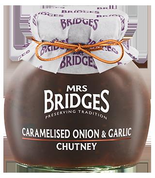 Mrs Bridges Caramelised Onion & Garlic Chutney 100g