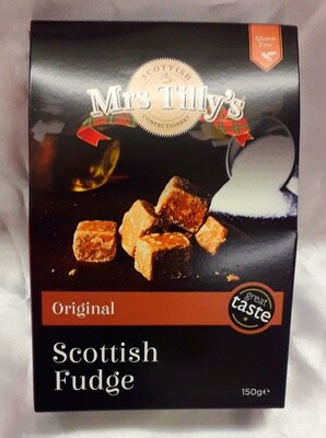 Mrs Tillys Original Scottish Fudge 150g