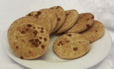 Nevis Bakery Sea Salted Caramel Shortbread Rounds (200g)