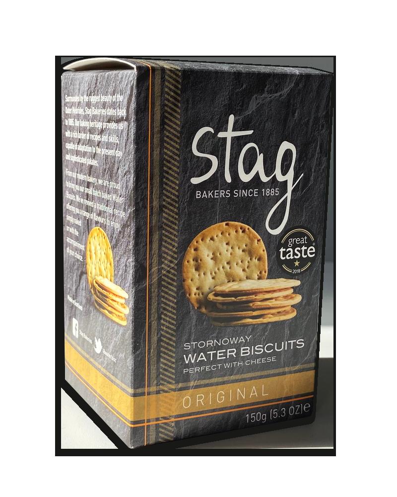 Stornoway Water Biscuits 150g