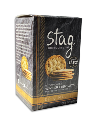 Stag Bakeries Stornoway Water Biscuits 150g