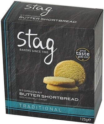 Stornoway Butter Shortbread - Boxed (125g)