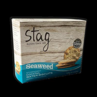 Stornoway Seaweed Water Biscuits 125g
