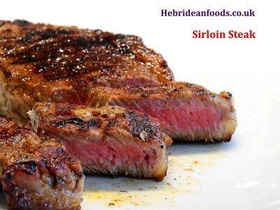 2 x Sirloin Steaks, Himalayan Salt Dry Aged, 2 x 240g (8oz) approx
