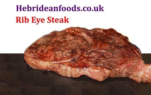 2 x Rib Eye Steaks, Himalayan Salt Dry Aged, 2 x 240g (8oz) approx
