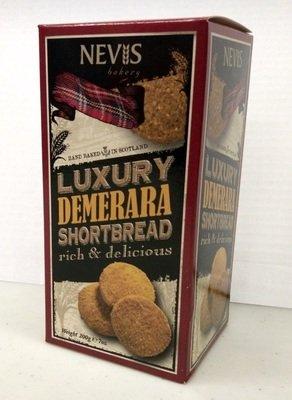 Nevis Bakery Luxury Demerara Shortbread - Boxed (200g)