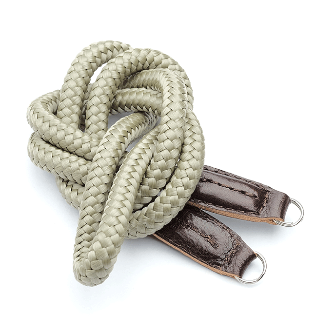 Lieutenant Olive Medium. Neck Camera Strap