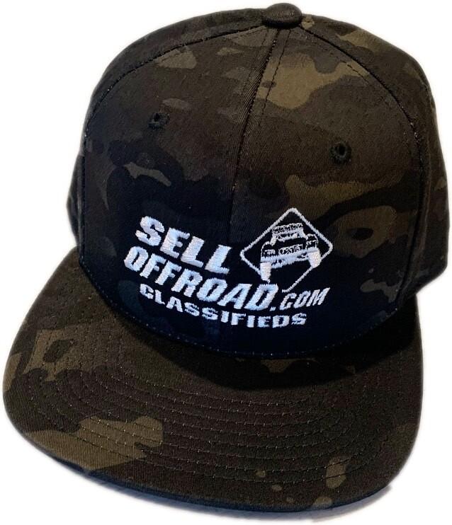 Dark Camo Hat