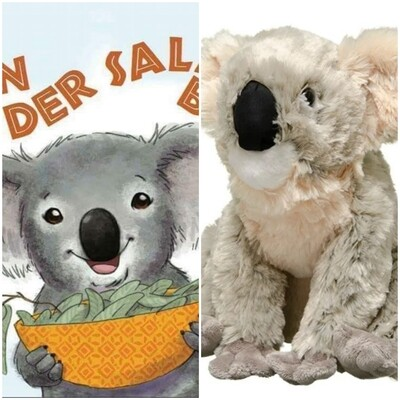 THE DOWN UNDER BOOK & PLUSHY TOY