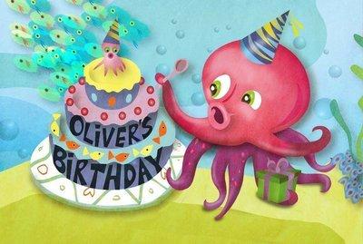 OLIVER'S BIRTHDAY