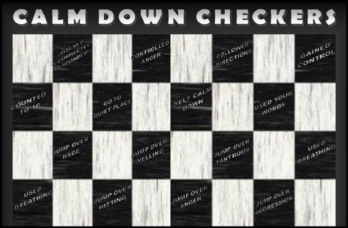 Calm Down Checkers