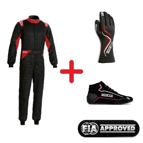 Sparco FIA ekipējuma komplekts