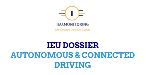 IEU Dossier: Autonomous and Connected Driving - Update May/June 2021 (PDF, 37 pages)