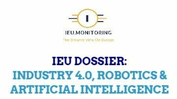 IEU Dossier Industry 4.0, Robotics & AI - Update February/March 2021 (29 pages, PDF)