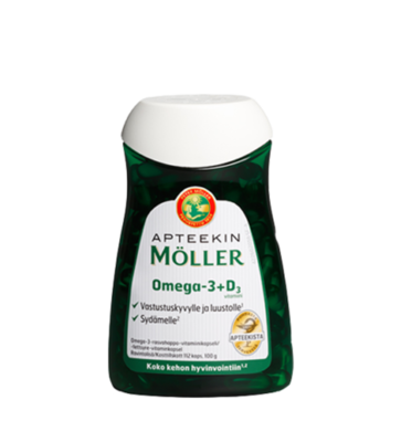 APTEEKIN Moller Omega-3 + D3