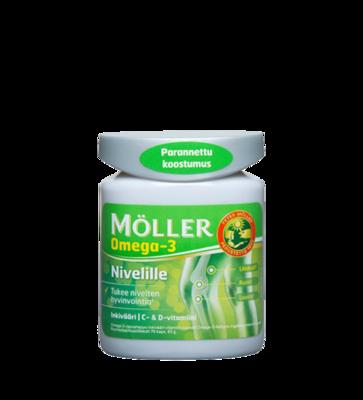 Moller Omega-3 Nivelille 114 капсул