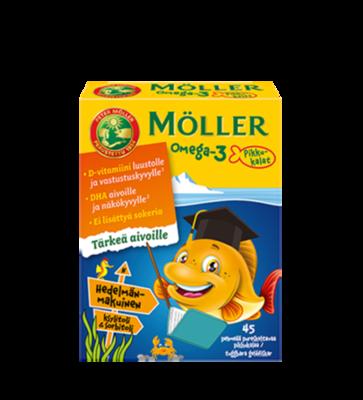Moller Omega-3 Pikkukalat Tutti-Frutti 45 рыбок