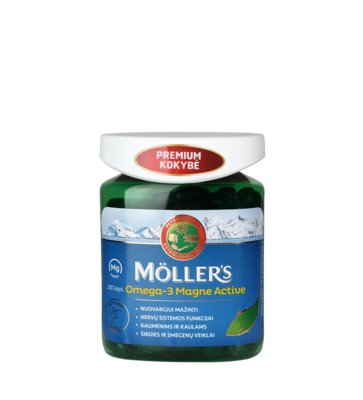 Moller's Magne Active 100 капсул