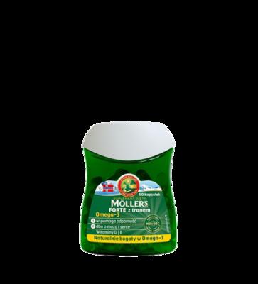 Moller's Omega-3 Forte 60 капсул