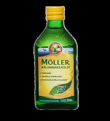 Moller Omega-3 Kalanmaksaoljy 500ml