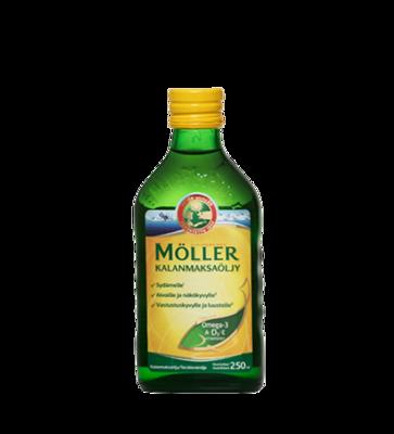 Moller Omega-3 Kalanmaksaoljy natural 250