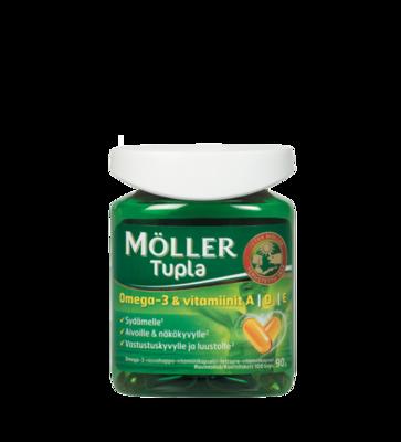 Moller Omega-3 Tupla 100 капсул
