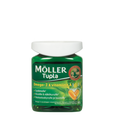 Moller Omega-3 Tupla 160 капсул