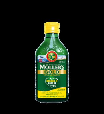 Moller's Omega-3 Gold Tran 250ml