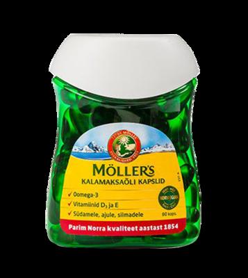 Moller's Kalamaksaoli kapslid