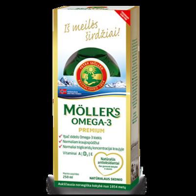 Moller's Omega-3 Premium 250 ml