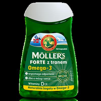 Moller's Omega-3 Forte 112 капсул