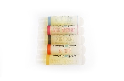 Simply Good™ Full Set of All Flavoured Lip Balms