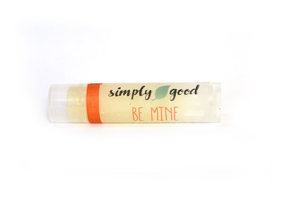 Simply Good™ Be Mine Strawberry Flavoured Lip Balm
