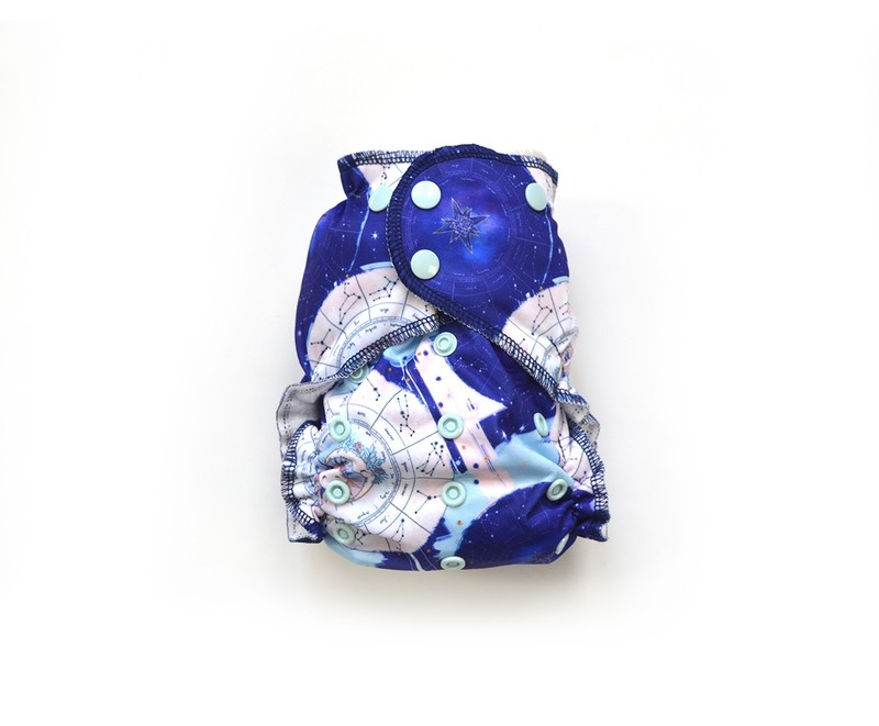 Easy Peasies® One Size Reusable Cloth Pocket Diaper - Saros
