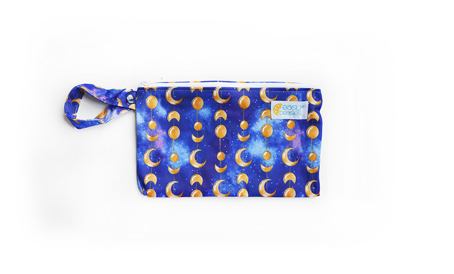 Easy Peasies® Mini Reusable Wetbag With Strap - Oberon