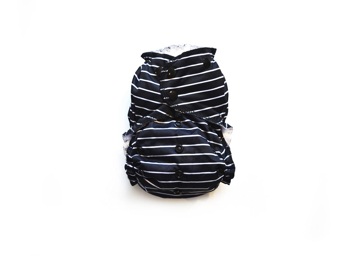 Easy Peasies® One Size Reusable Cloth Swim Diaper - Fedora