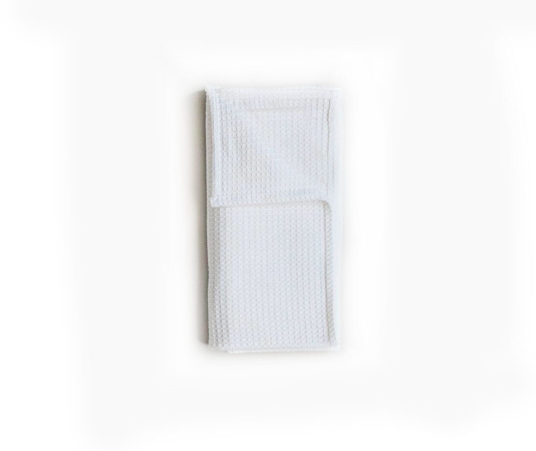 Simply Good™ waffle cotton swaddle receiving blanket