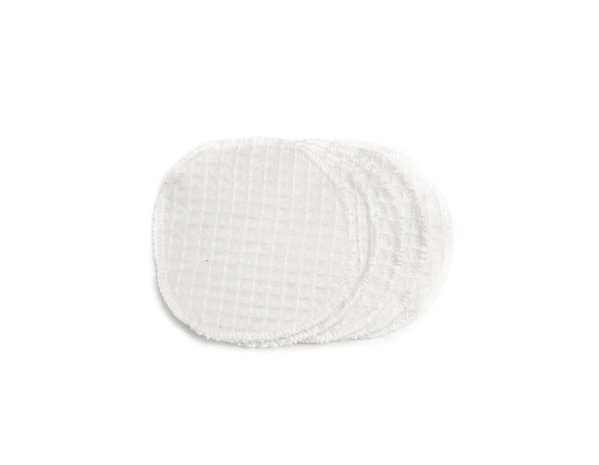 Set of 15 Simply Good Waffle Cotton Facial Scrub Pads