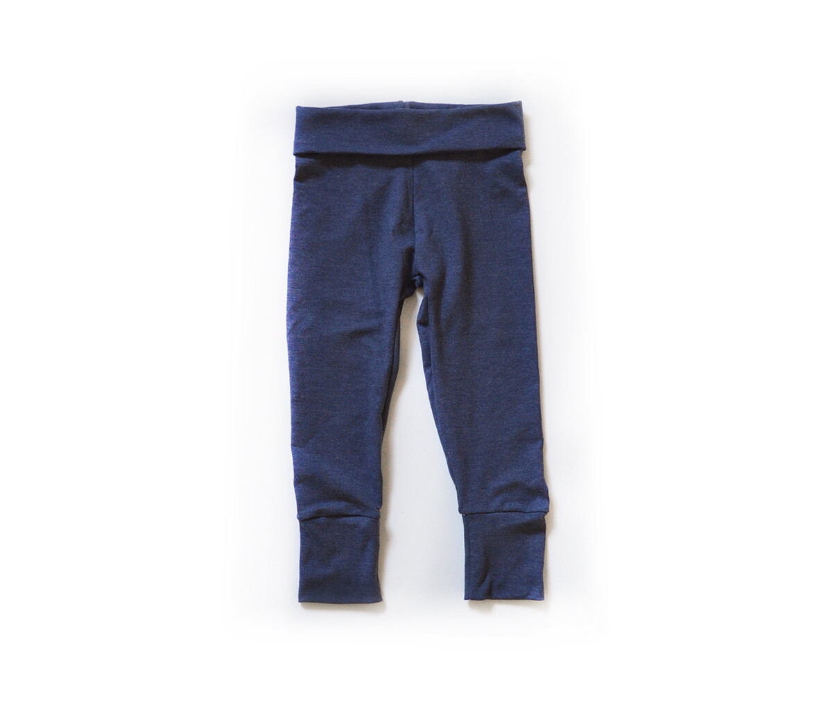 Little Sprout Pants™ in Denim Blue | Grow With Me Leggings - Cotton