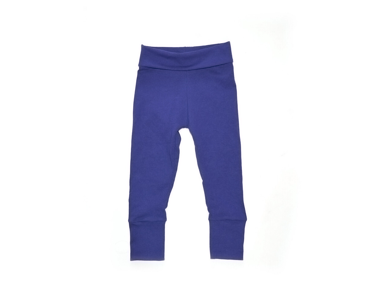 Little Sprout Pants™ in Royal Blue | Grow With Me Leggings - Cotton