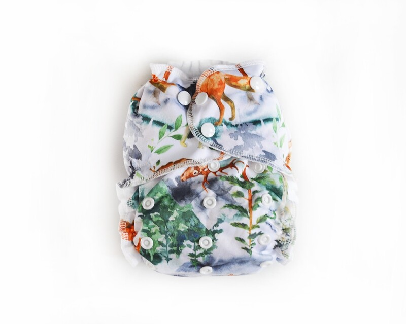 Easy Peasies Pocket Cloth Diaper - Into the Mist