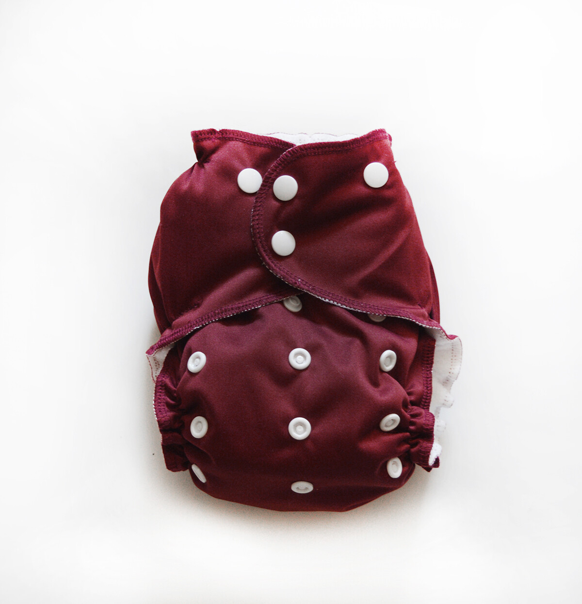 Easy Peasies One size Pocket Cloth Diaper - Cranberry