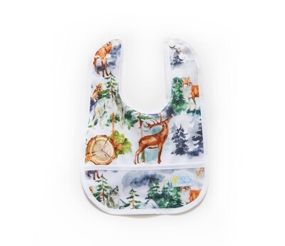 Easy Peasies® Stay Clean Bib - Into the Mist