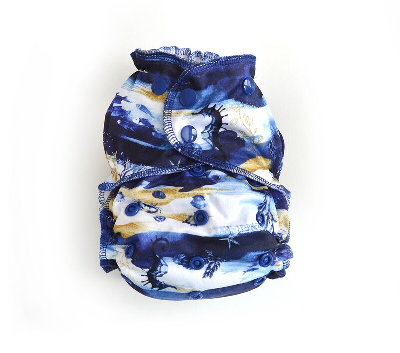 Easy Peasies® One Size Reusable Cloth Pocket Diaper - Under the Sea
