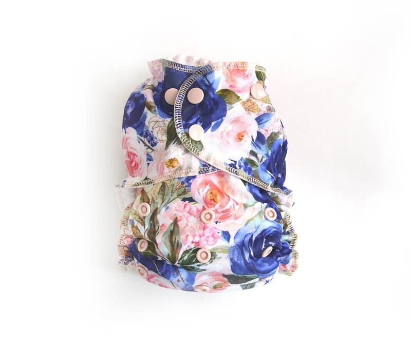 Easy Peasies® Reusable Cloth Pocket Diaper - Bloom