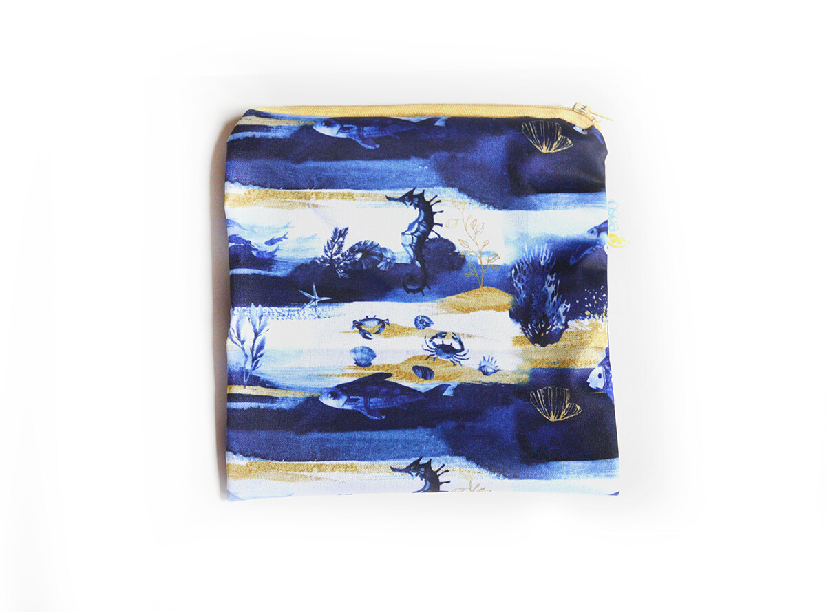 Easy Peasies® Reusable Sandwich Bag -Under the Sea
