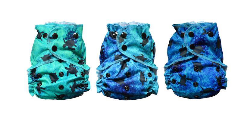 Easy Peasies® One Size Reusable Cloth Swim Diaper -  Makai
